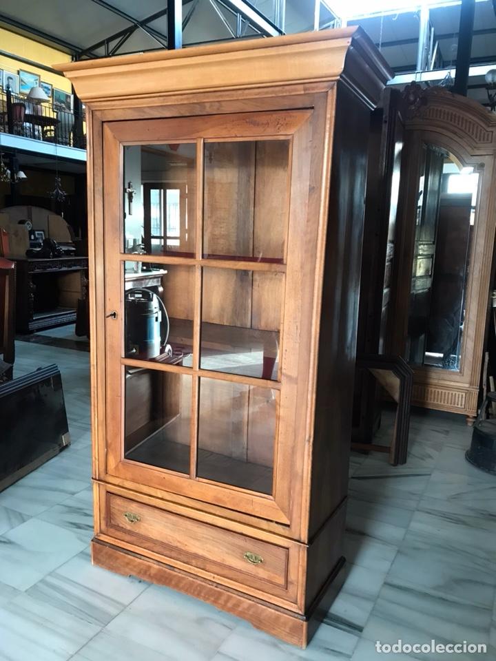 Antigüedades: Vitrina / biblioteca. R 6347 - Foto 3 - 171067025