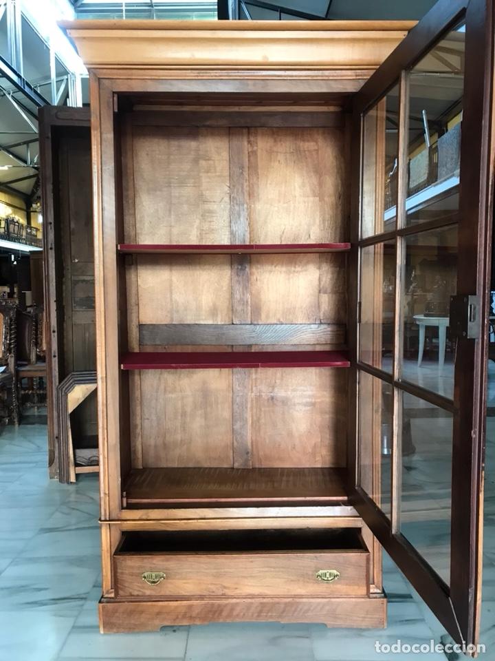 Antigüedades: Vitrina / biblioteca. R 6347 - Foto 5 - 171067025