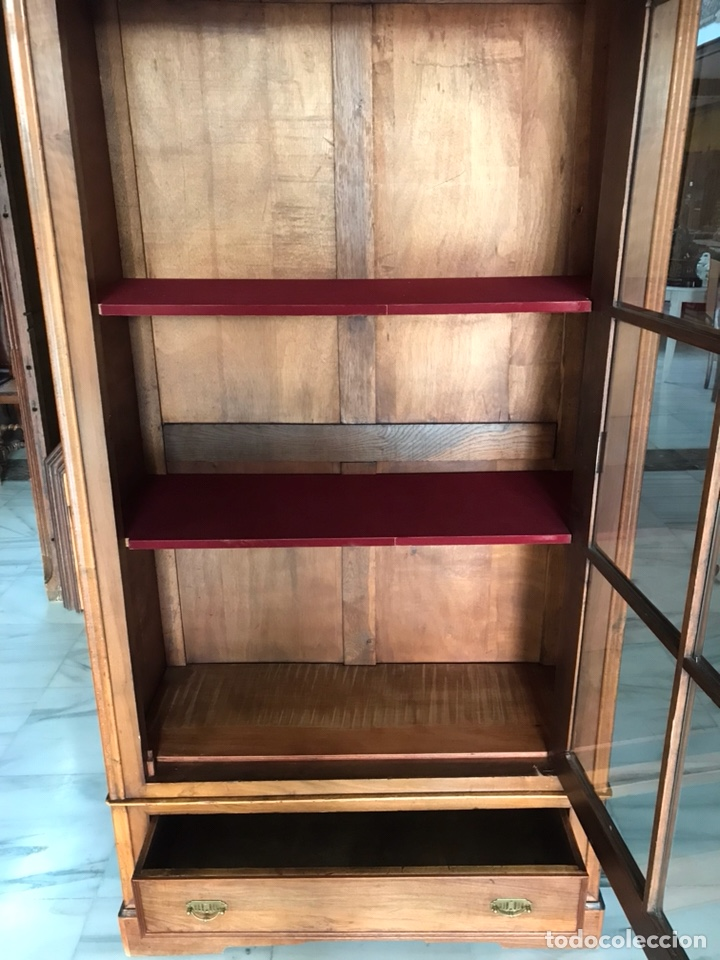 Antigüedades: Vitrina / biblioteca. R 6347 - Foto 6 - 171067025