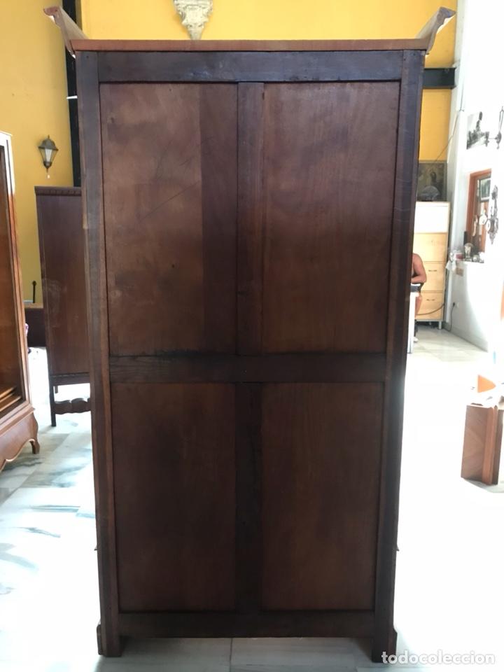Antigüedades: Vitrina / biblioteca. R 6347 - Foto 7 - 171067025