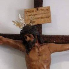 Antigüedades: CRISTO CRUCIFICADO. Lote 171104278