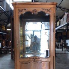 Antigüedades: VITRINA ESTILO LUIS XVI. R 6349. Lote 171106082