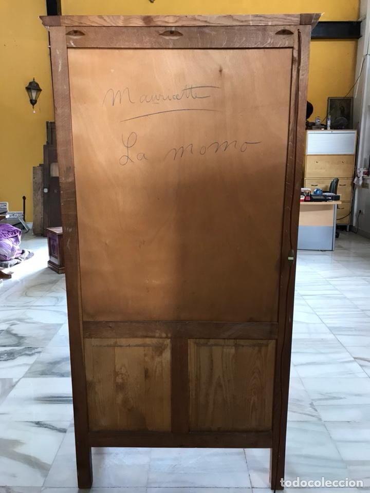 Antigüedades: Vitrina estilo luis XVI. R 6349 - Foto 8 - 171106082