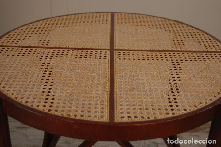 Antigüedades: Mesa auxiliar estilo Thonet - Foto 2 - 171113365