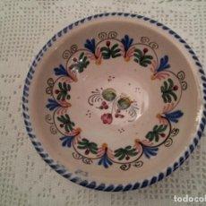 Antigüedades: CUENCO CERÁMICA. Lote 171139742