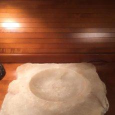 Antigüedades: ANTIGUO CENTRO MÁRMOL PESA MÁS DE 3 KG. 27CMX30CM. Lote 171142642