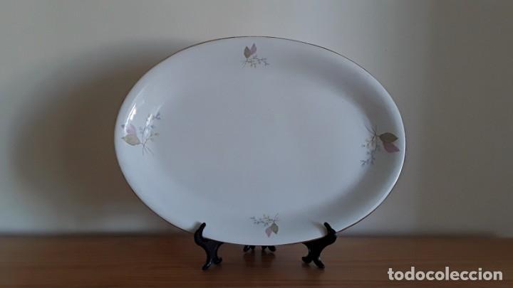 Antigüedades: Fuente ovalada cerámica La Cartuja Pickman - Foto 5 - 171148279