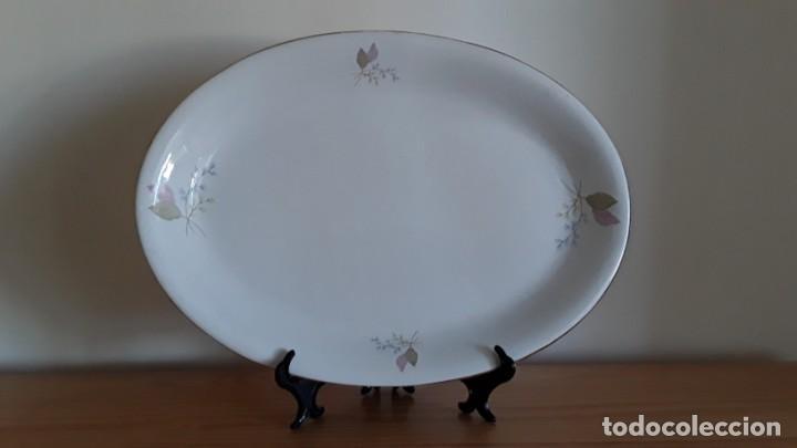 Antigüedades: Fuente ovalada cerámica La Cartuja Pickman - Foto 7 - 171148279