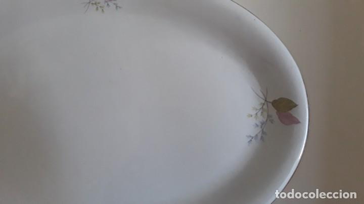 Antigüedades: Fuente ovalada cerámica La Cartuja Pickman - Foto 9 - 171148279