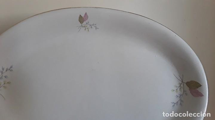 Antigüedades: Fuente ovalada cerámica La Cartuja Pickman - Foto 11 - 171148279