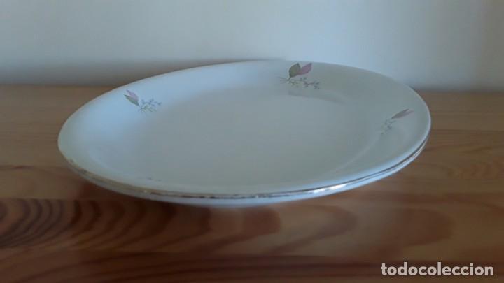 Antigüedades: Fuente ovalada cerámica La Cartuja Pickman - Foto 12 - 171148279