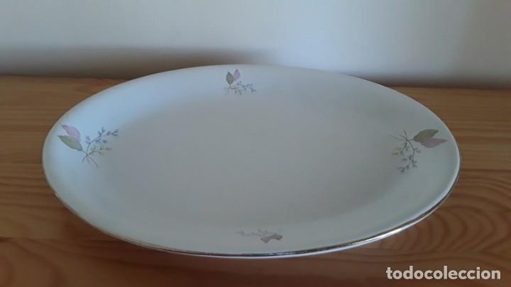 Antigüedades: Fuente ovalada cerámica La Cartuja Pickman - Foto 16 - 171148279