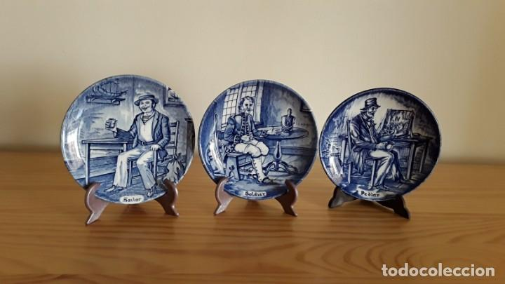 PLATITOS PORCELANA WEDGWOOD (Antigüedades - Porcelanas y Cerámicas - Inglesa, Bristol y Otros)