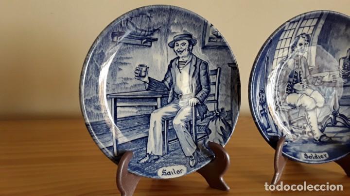 Antigüedades: Platitos porcelana Wedgwood - Foto 2 - 171149169