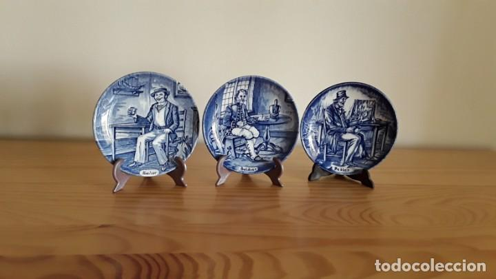 Antigüedades: Platitos porcelana Wedgwood - Foto 3 - 171149169