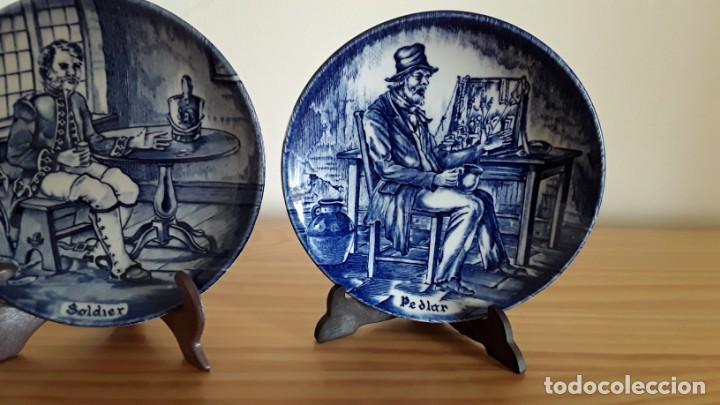 Antigüedades: Platitos porcelana Wedgwood - Foto 4 - 171149169