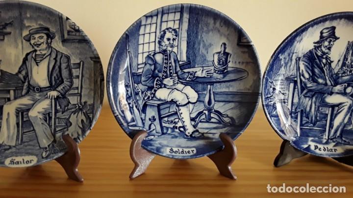 Antigüedades: Platitos porcelana Wedgwood - Foto 5 - 171149169