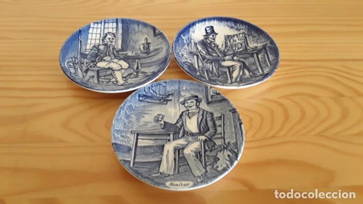Antigüedades: Platitos porcelana Wedgwood - Foto 6 - 171149169