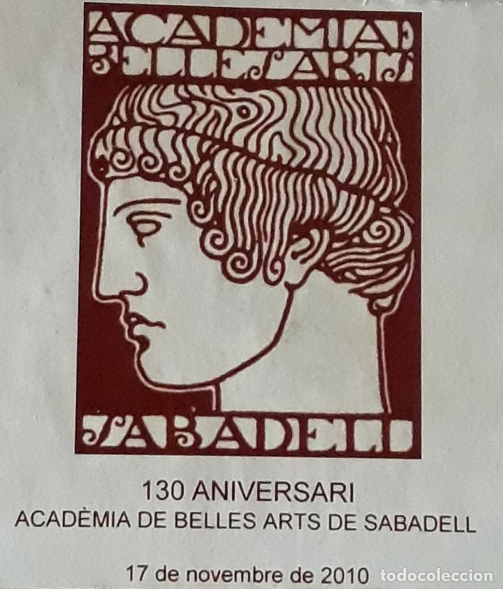 Antigüedades: MEDALLA DE ACADEMIA BELLES ARTS SABADELL( 130 Aniversario ) - Foto 3 - 171158449