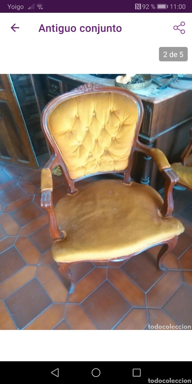 PAREJA DE SILLONES (Antigüedades - Muebles Antiguos - Sillones Antiguos)