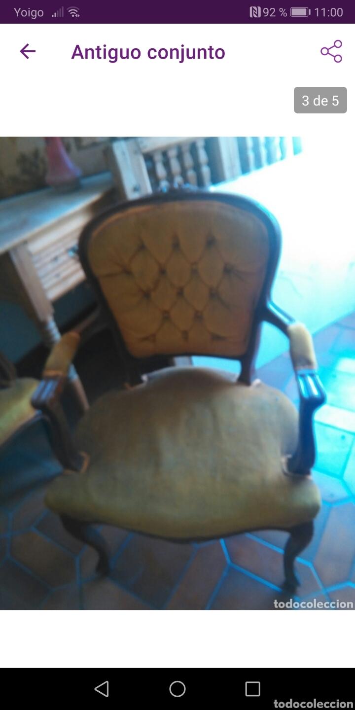 Antigüedades: Pareja de sillones - Foto 2 - 171161627