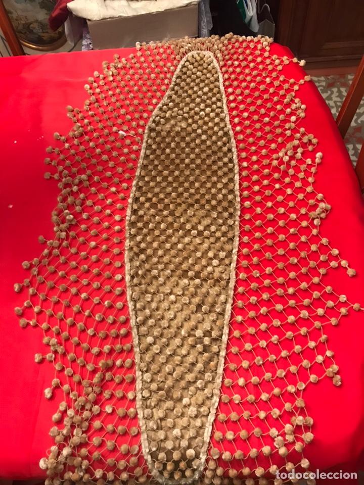MADROÑERA GOYESCA BEIGE (Antigüedades - Moda y Complementos - Mujer)
