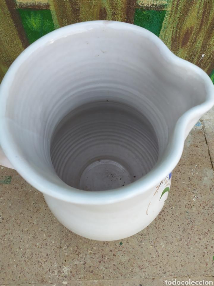 Antigüedades: Jarra de agua flores 38 cm. - Foto 4 - 171193619