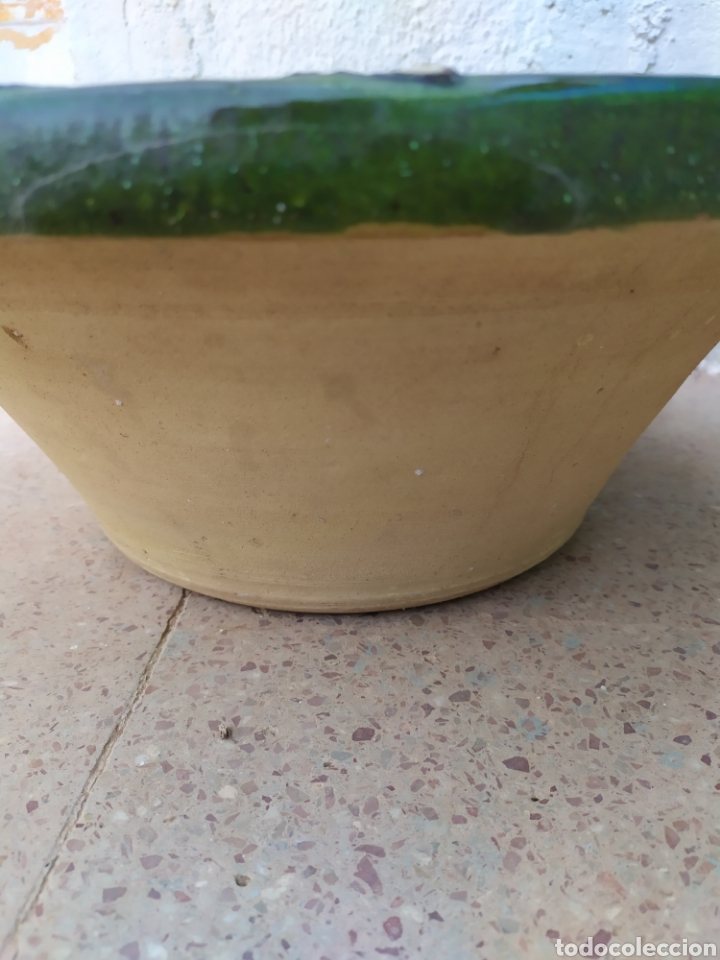 Antigüedades: Lebrillo envejecido 39 cm. X 15 cm. - Foto 2 - 171194354
