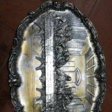 Antiquités: BANDEJA ÚLTIMA CENA. Lote 171200028