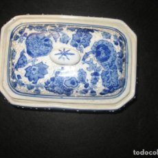 Antigüedades: BOMBONERA DE CERAMICA. Lote 171203500