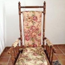 Antigüedades: PAREJA DE MECEDORAS PRECIOSA. Lote 171205003