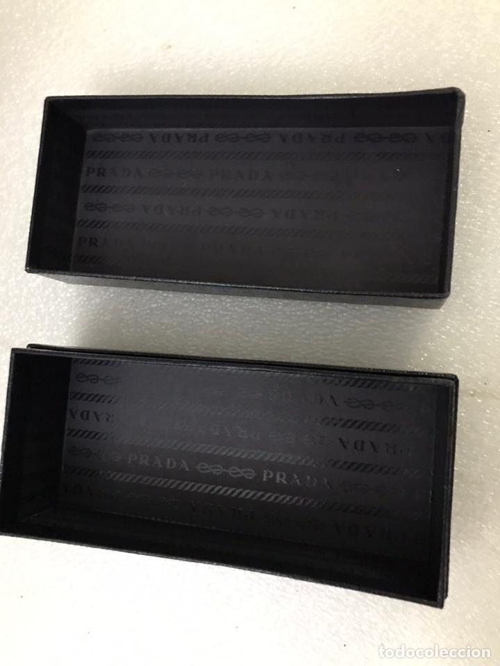 Antigüedades: Caja vacía PRADA para gafas - Foto 4 - 171208193