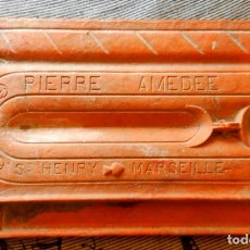 Antigüedades: LADRILLO TERRACOTA PIERRE AMEDEE ST HENRY -MARSEILLE- S. XIX. Lote 171223253