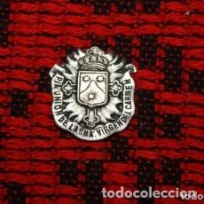 Antigüedades: MEDALLA PIA UNION DE LA SMA VIRGEN DEL CARMEN . Lote 171229189