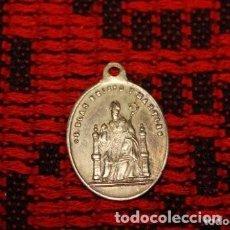Antigüedades: MEDALLA DEL SIGLO XIX SAN BLAS . Lote 171230707