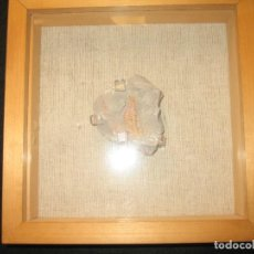 Antigüedades: DIBUJO REALIZADO POR FILTRACIONES EN LA ROCA. Lote 171234330