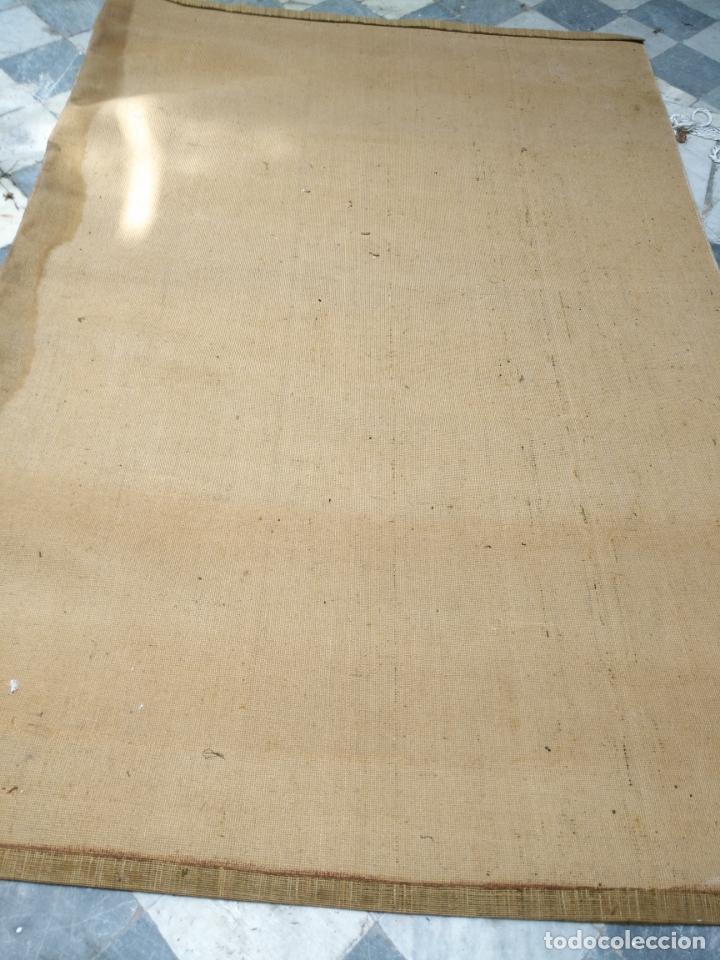 Antigüedades: GRAN alfombra verde oliva 292 x 198 CM IDEAL ALTAR DE CULTOS SEMANA SANTA VIRGEN ESPERAZA VERA-CRUZ - Foto 7 - 171239793