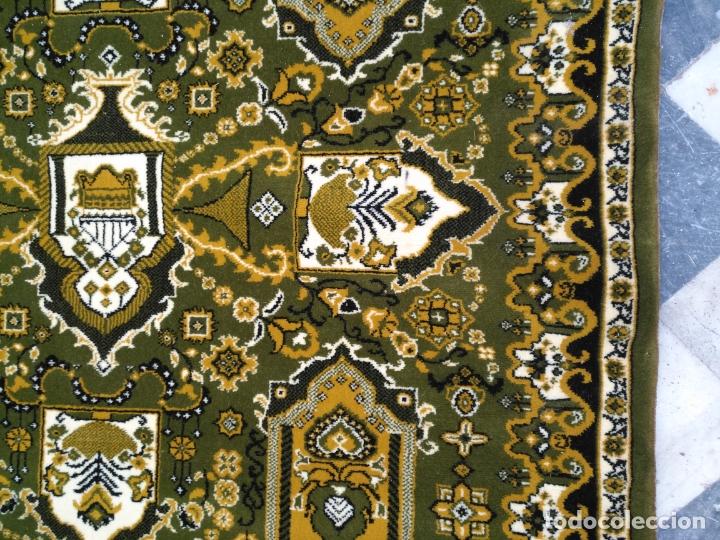 Antigüedades: GRAN alfombra verde oliva 292 x 198 CM IDEAL ALTAR DE CULTOS SEMANA SANTA VIRGEN ESPERAZA VERA-CRUZ - Foto 9 - 171239793