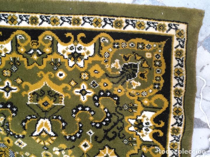 Antigüedades: GRAN alfombra verde oliva 292 x 198 CM IDEAL ALTAR DE CULTOS SEMANA SANTA VIRGEN ESPERAZA VERA-CRUZ - Foto 12 - 171239793