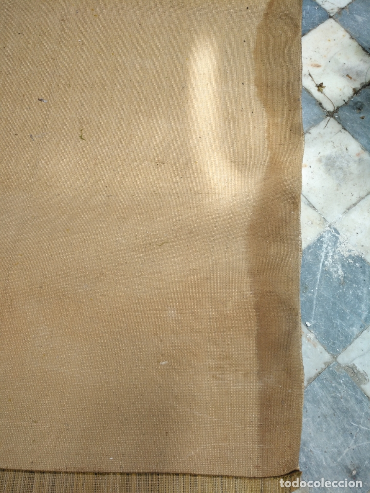 Antigüedades: GRAN alfombra verde oliva 292 x 198 CM IDEAL ALTAR DE CULTOS SEMANA SANTA VIRGEN ESPERAZA VERA-CRUZ - Foto 15 - 171239793