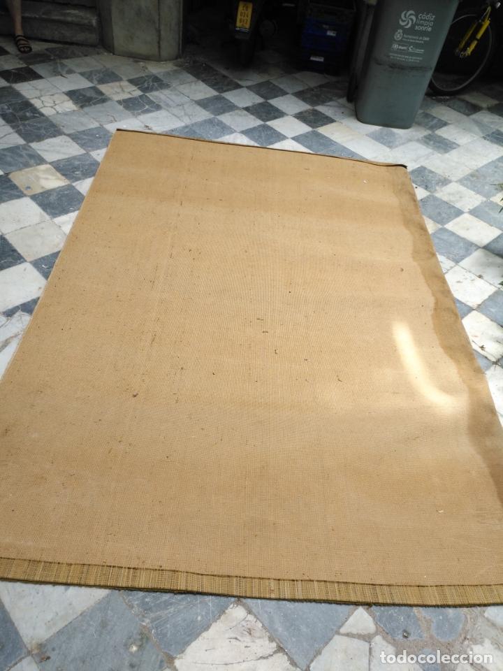 Antigüedades: GRAN alfombra verde oliva 292 x 198 CM IDEAL ALTAR DE CULTOS SEMANA SANTA VIRGEN ESPERAZA VERA-CRUZ - Foto 16 - 171239793