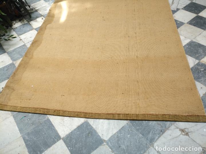 Antigüedades: GRAN alfombra verde oliva 292 x 198 CM IDEAL ALTAR DE CULTOS SEMANA SANTA VIRGEN ESPERAZA VERA-CRUZ - Foto 17 - 171239793