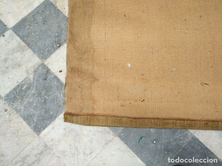 Antigüedades: GRAN alfombra verde oliva 292 x 198 CM IDEAL ALTAR DE CULTOS SEMANA SANTA VIRGEN ESPERAZA VERA-CRUZ - Foto 18 - 171239793