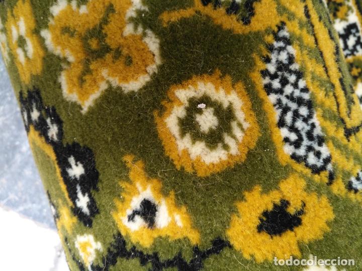 Antigüedades: GRAN alfombra verde oliva 292 x 198 CM IDEAL ALTAR DE CULTOS SEMANA SANTA VIRGEN ESPERAZA VERA-CRUZ - Foto 20 - 171239793