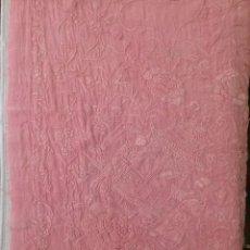 Antigüedades: MANTON PIQUILLO PARA FLAMENCA. Lote 171240028