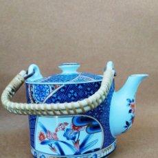 Antigüedades: TETERA JAPONESA DE PORCELANA. Lote 171242480