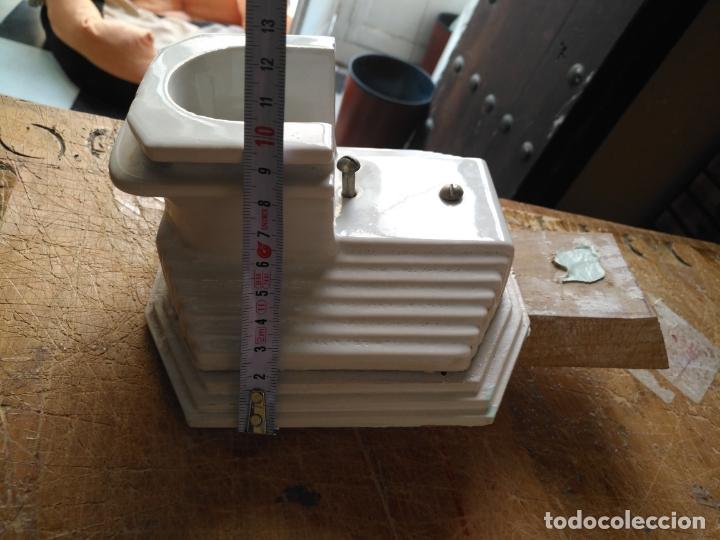 muy antiguo aplique cuarto baño porcelana cer - Comprar en ...