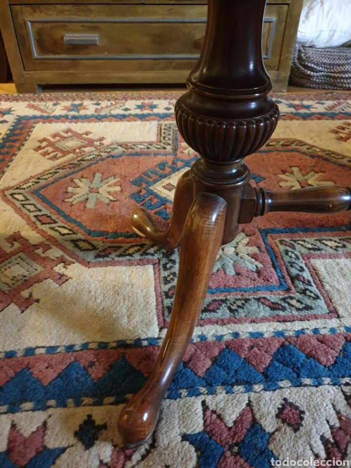 Antigüedades: Mesa inglesa baja - Foto 3 - 171259492