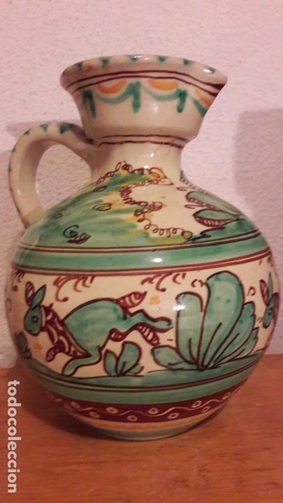 Antigüedades: Jarra ceramica Puente Arzobispo Sanguino - Foto 3 - 171282442