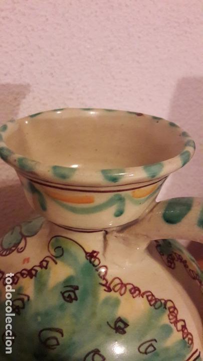 Antigüedades: Jarra ceramica Puente Arzobispo Sanguino - Foto 5 - 171282442